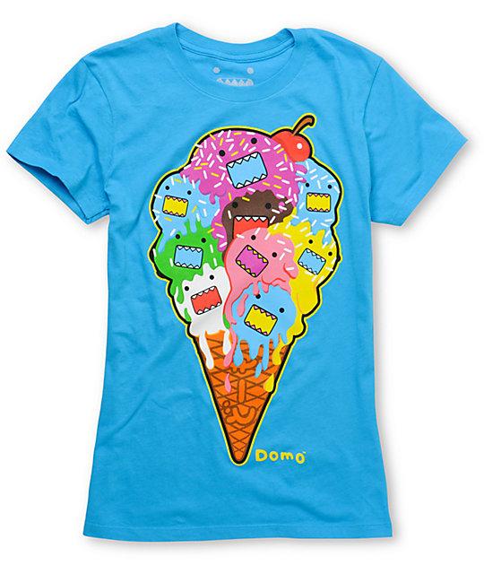 Domo Melted Aqua T-Shirt