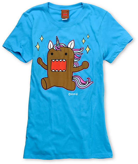 Domo Unicorn Aqua T-Shirt