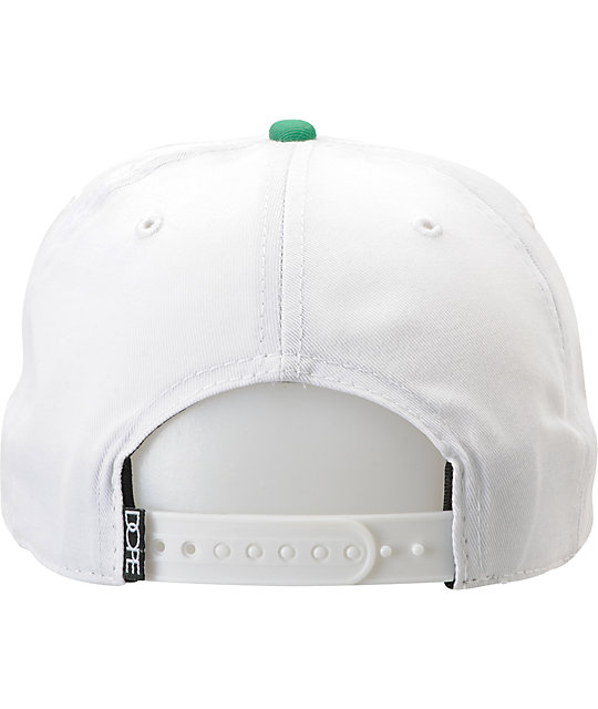 Dope Couture Dopest White Snapback Hat
