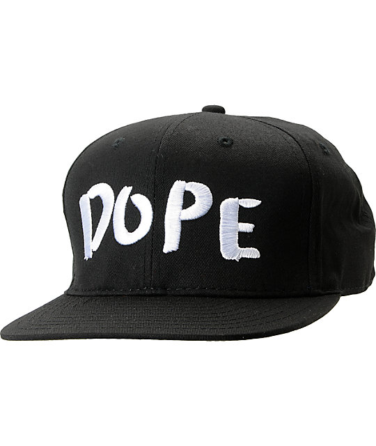 Dope Couture Sprouse Black Snapback Hat