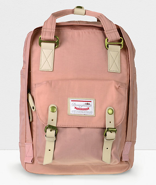 Doughnut Macaroon Rose Backpack