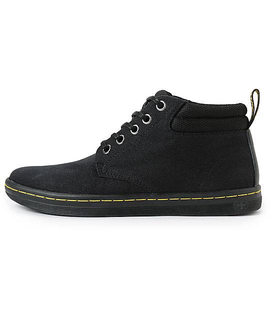 Dr. Martens Belmont Black 5 Eye Boots