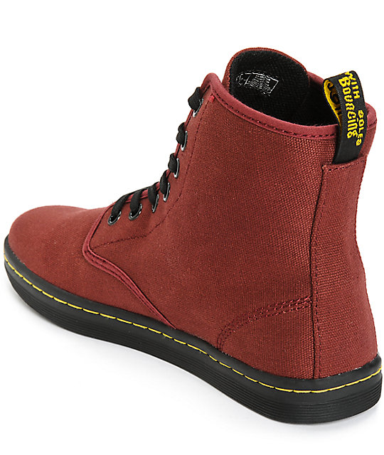 Dr. Martens Shoreditch Cherry Red Boots