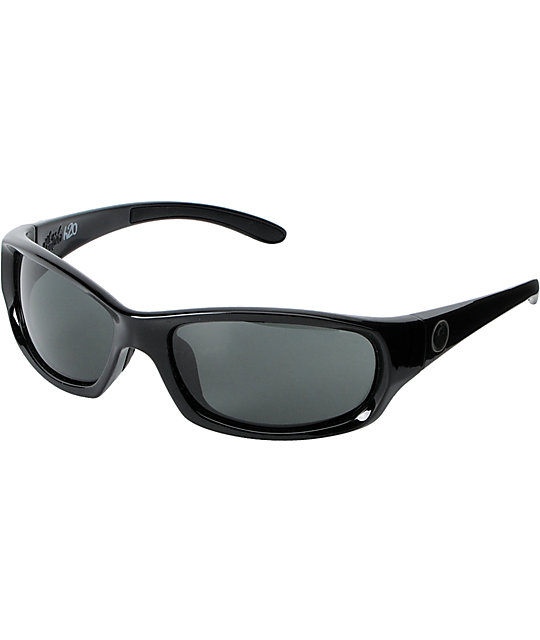 Dragon Chrome H20 Jet Black Sunglasses