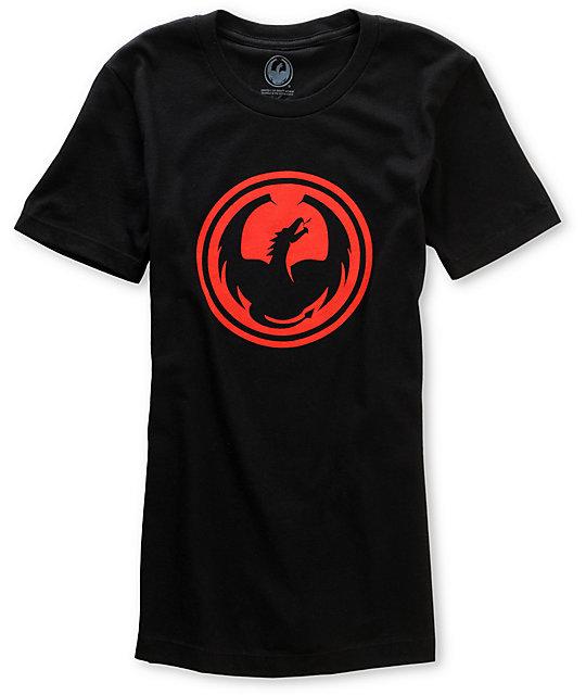 Dragon Icon Black T-Shirt