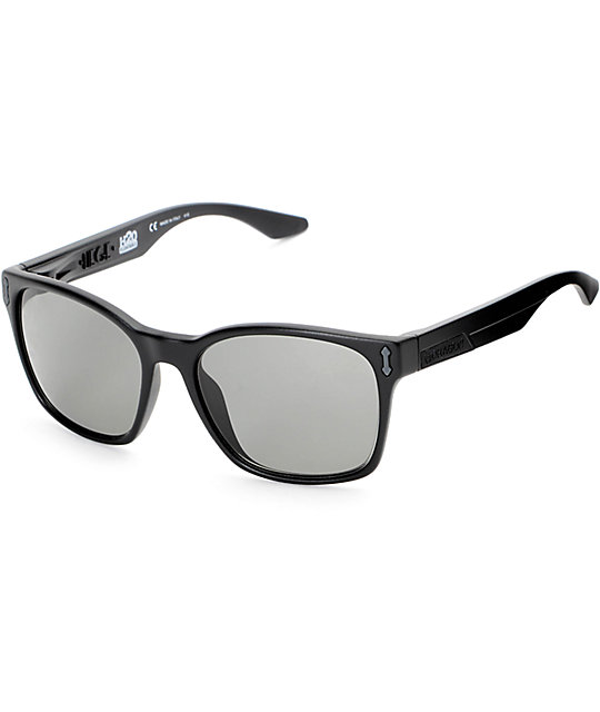 Dragon Liege Matte Black & Grey H2O Polarized Sunglasses