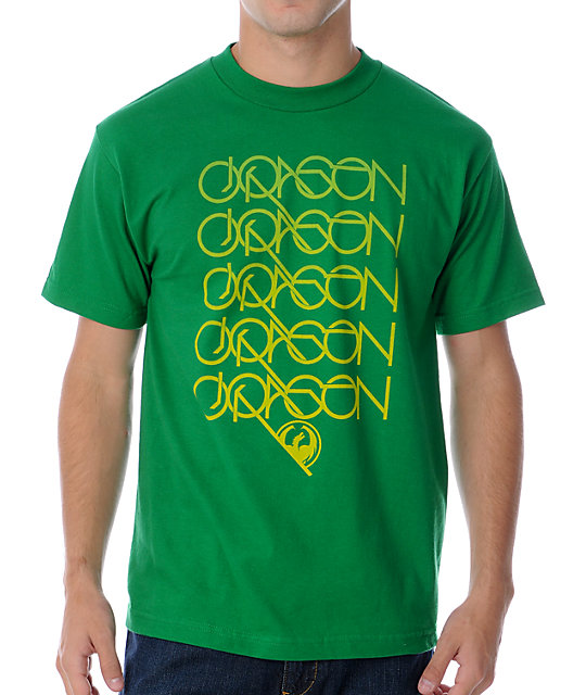 Dragon Logan Run Green T-Shirt