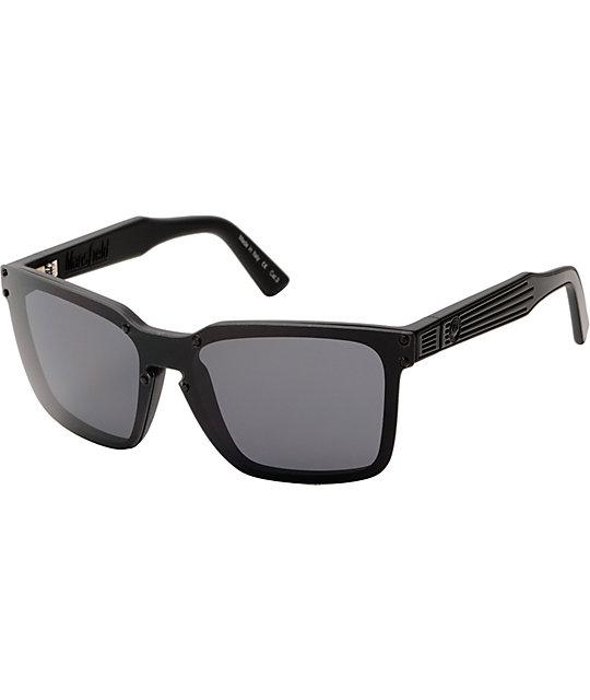 Dragon Sunglasses Mansfield  dragon mansfield jet black sunglasses at zumiez pdp