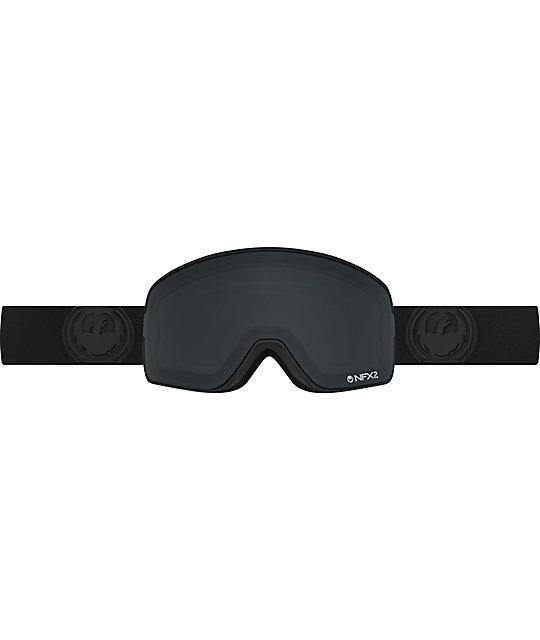Dragon NFX2 Knight Rider Black Snowboard Goggles