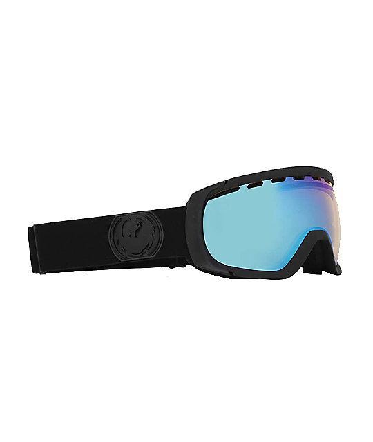 Dragon Rogue Knight Rider Yellow Ion Snowboard Goggles