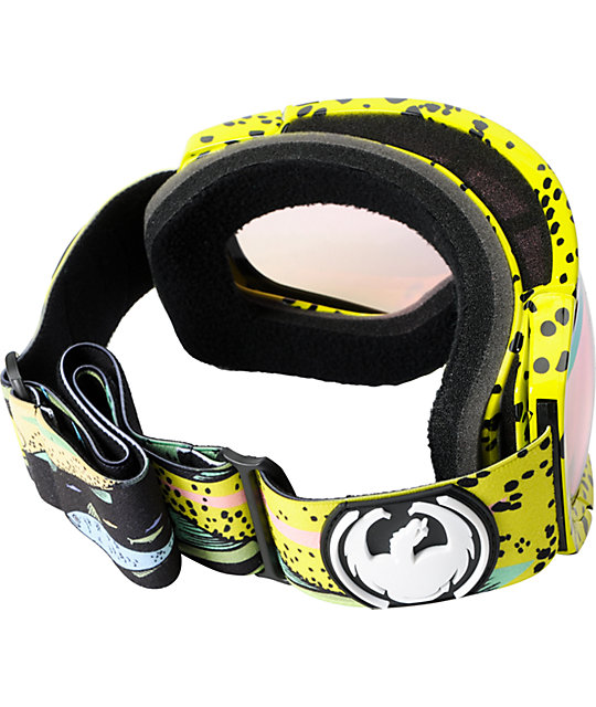 Dragon Rogue Onboard DAP & Pink Ion Snowboard Goggles