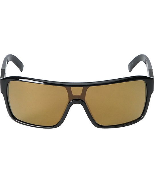 Dragon The Jam Remix Black & Gold Sunglasses