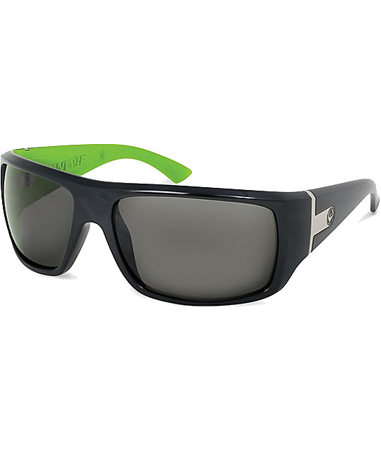 Dragon Vantage Jet & Lime Sunglasses
