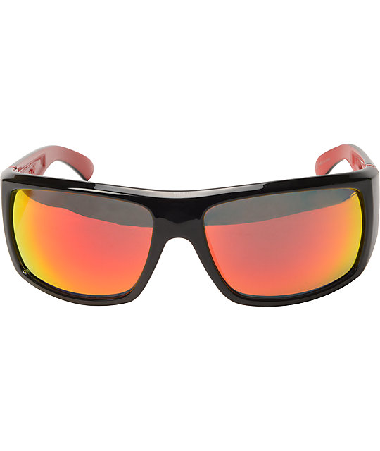 Dragon Vantage Jet Red & Red Ion Sunglasses