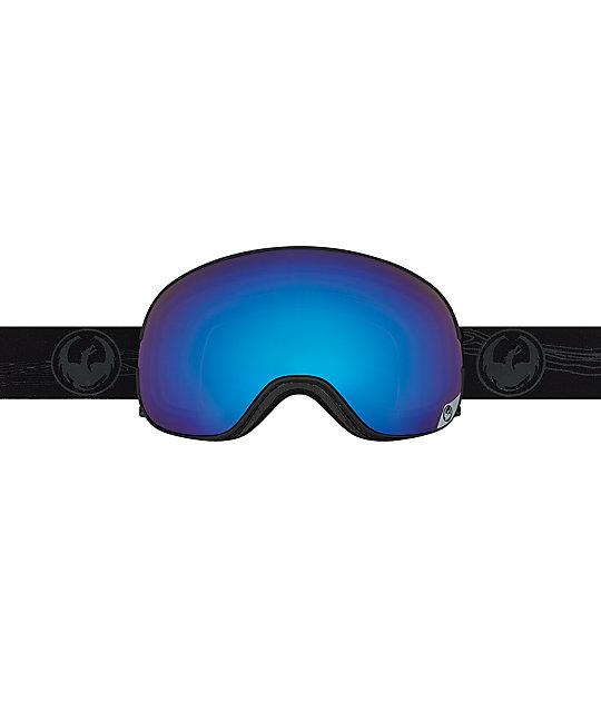 blue snowboard goggles u9ie  Dragon X2 Iguchi Blue Steel Snowboard Goggles