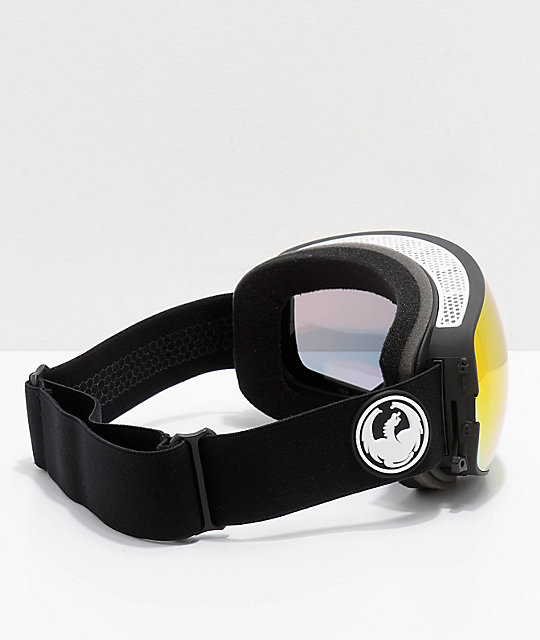 Dragon X2s Black & Red Ion Snowboard Goggles