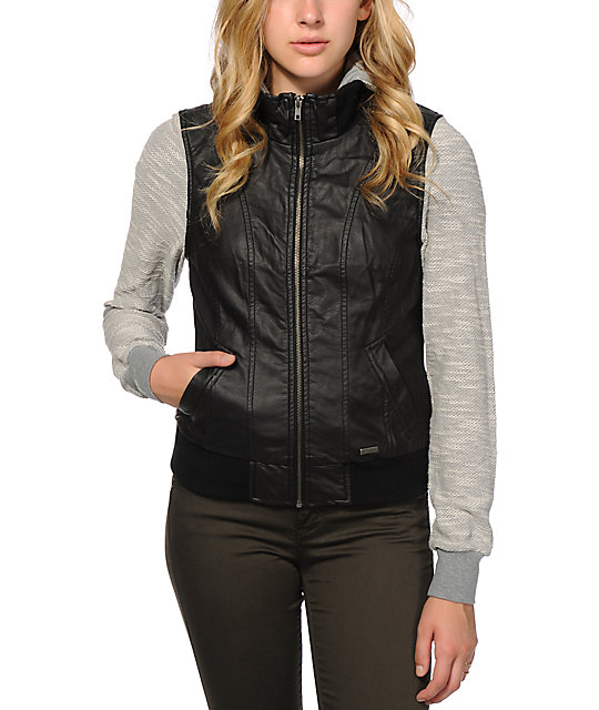 Dravus Adria Faux Leather Jacket at Zumiez : PDP