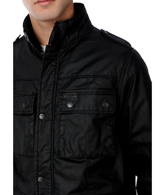 Dravus Adversary Black Wax Mens Jacket