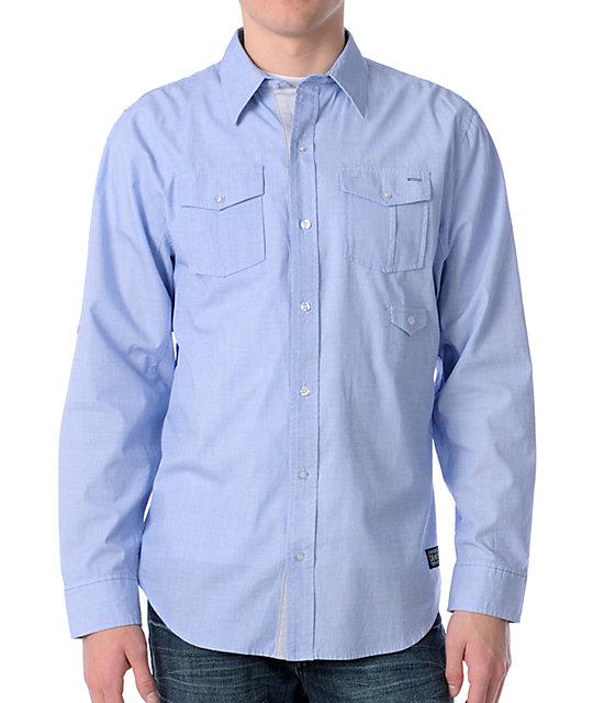 Dravus Anti Light Blue Woven Shirt