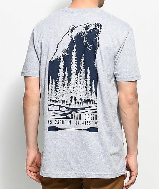 Dravus Bear Creek Grey T-Shirt