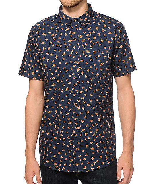 Dravus Birmingham Floral Button Up Shirt