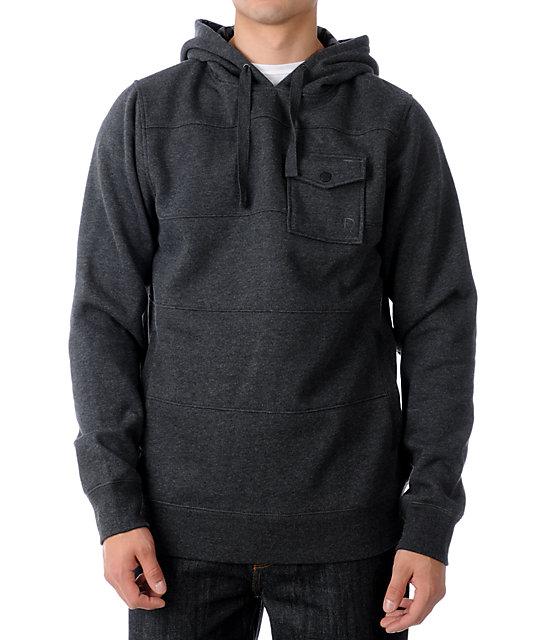 Dravus Capital Black Pullover Hoodie