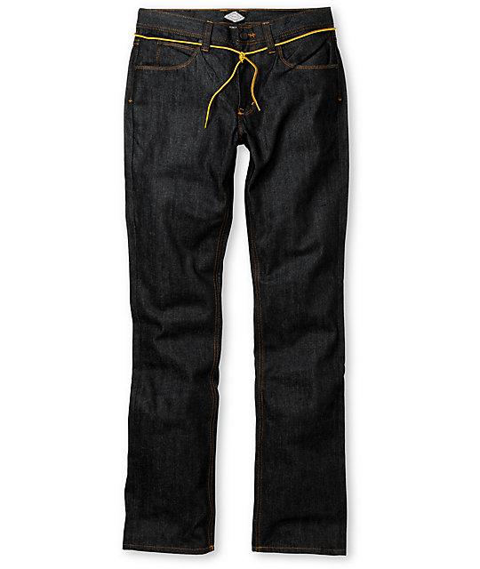 Dravus Driver Raw Wash Blue Skinny Jeans