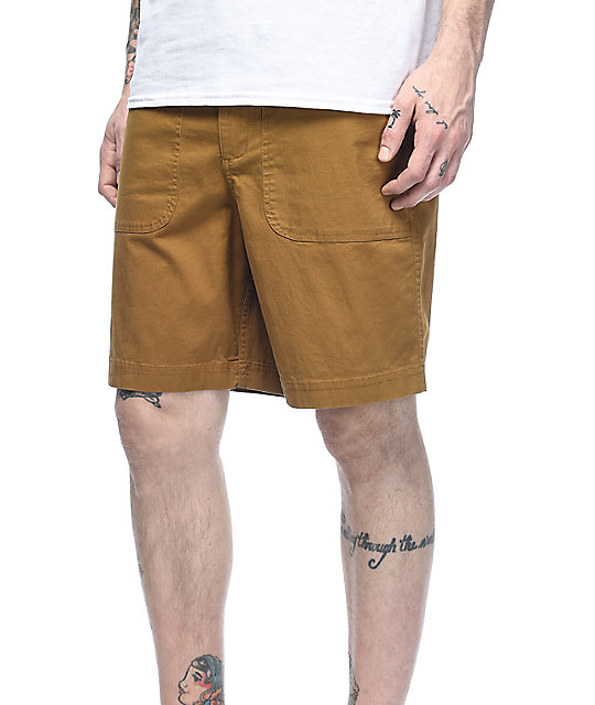 Dravus Hunter Tobacco Chino Shorts