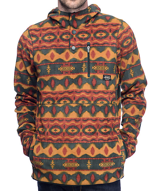 Dravus McKinnley Tribal Pullover Tech Fleece | Zumiez