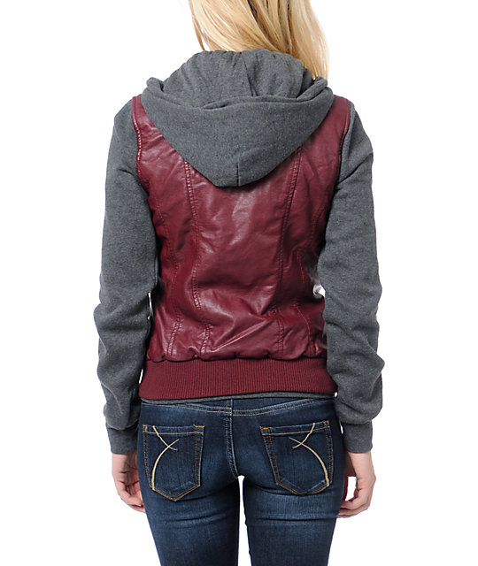 Dravus Meridian Red Hooded Vest Jacket