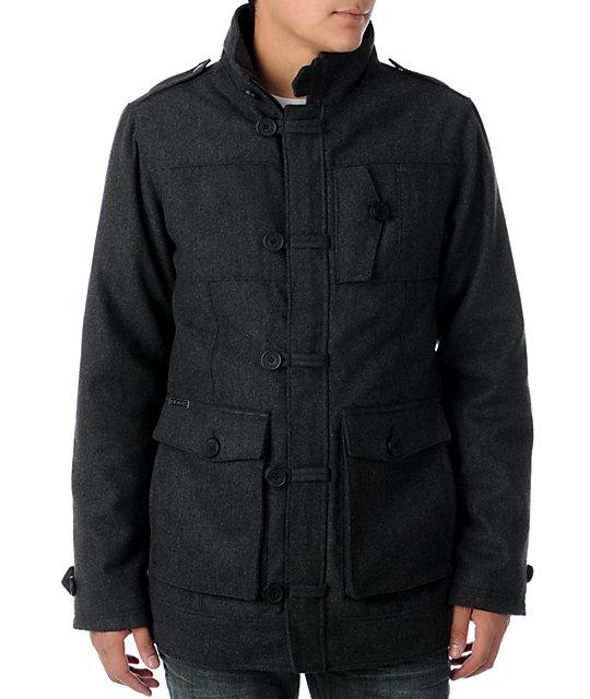 Dravus Reform Grey Wool Mens Jacket