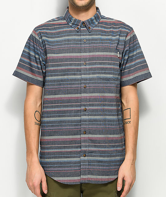 Mens Button Up Shirts | Zumiez