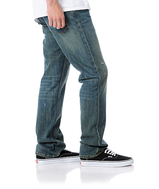 Dravus Standard WRG Dark Blue Regular Fit Jeans