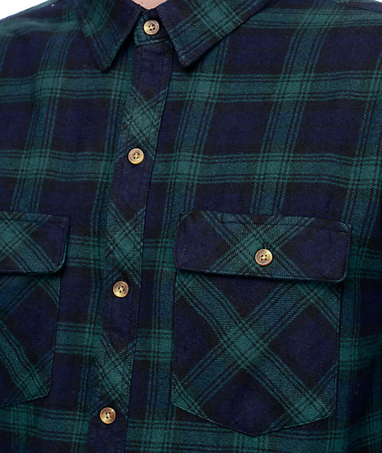 Dravus Stephen Forest & Navy Flannel