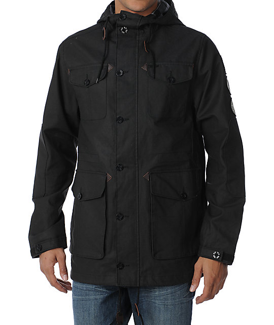 Dravus x Casual Industrees Scoutmaster Black Jacket