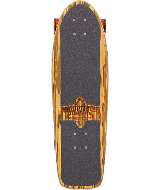 "Dusters Cazh Applewood 29""  Complete Cruiser Skateboard"