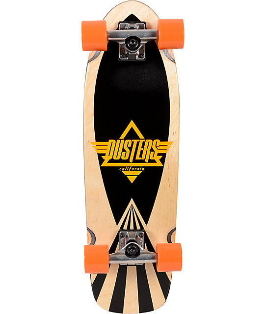 "Dusters Cazh Natural 27""  Complete Cruiser Skateboard"
