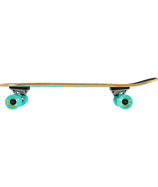 "Dusters Cazh Turquoise 27""  Complete Cruiser Board"