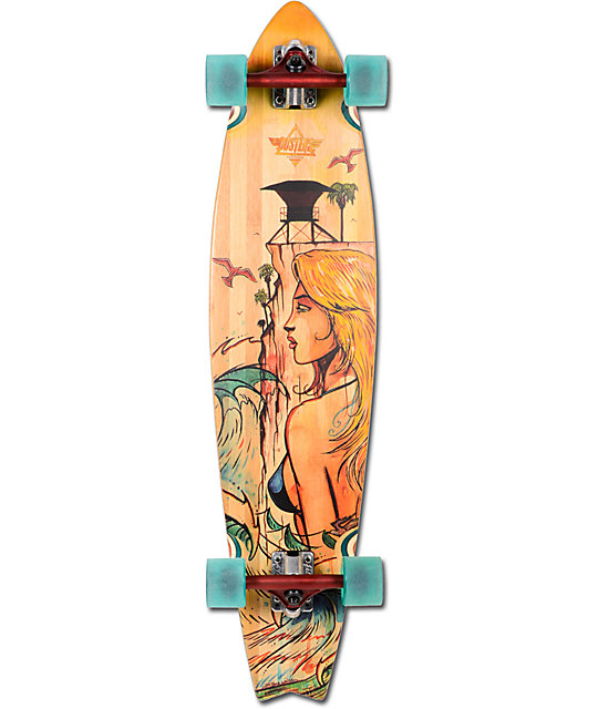 "Dusters Crusher Bamboo 38""  Longboard Complete"