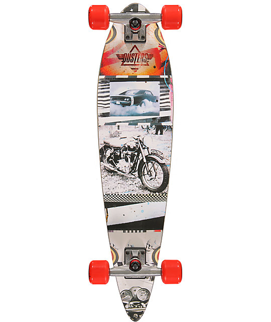 """Dusters Go Pintail 34""""  Longboard Complete"""