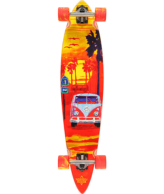 "Dusters Highway One 38.0""  Longboard Complete"