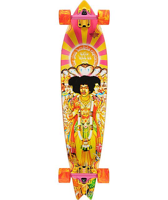 "Dusters Jimmy Hendrix Axis Bold 38.0""  Longboard Complete"