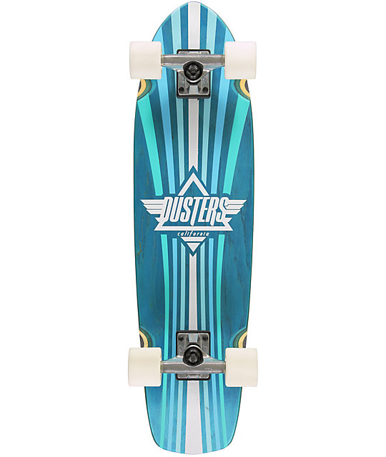 """Dusters Keen Turquoise 31""""  Cruiser Complete"""