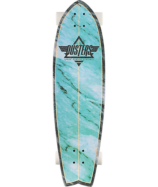 "Dusters Kosher Blue 32.5""  Complete Cruiser Board"