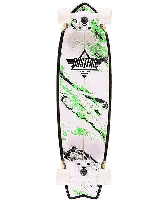 "Dusters Kosher Glow In The Dark 32.5""  Cruiser Complete Skateboard"