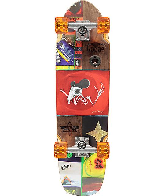"Dusters Locos Tourje 29""  Cruiser Complete Skateboard"