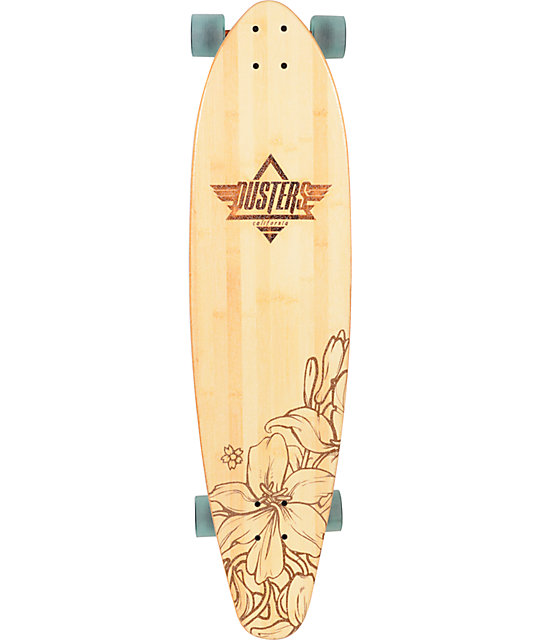 "Dusters Summer 38""  Bamboo Longboard Complete"