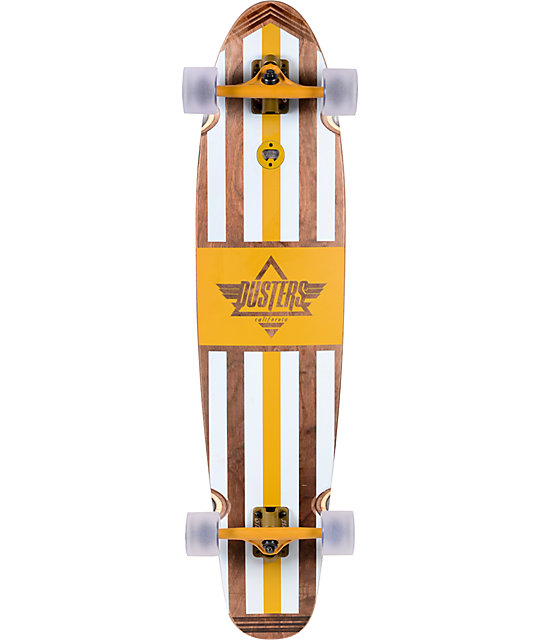 "Dusters Trestle 42""  Bamboo Longboard Complete"