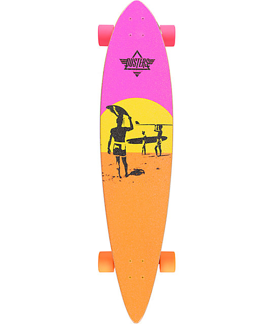 "Dusters x Endless Summer 42""  Pintail Longboard Complete"