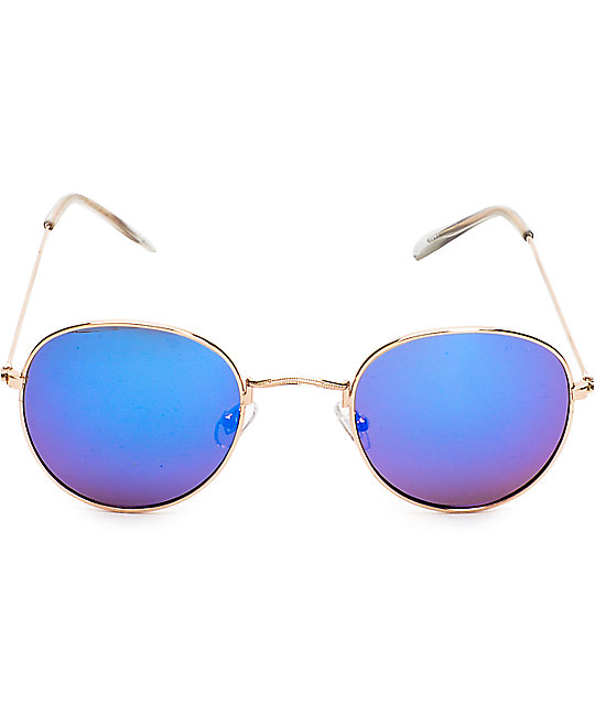 Dyllon Light Gold Sunglasses
